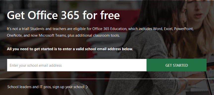 Get Office 365 for Free